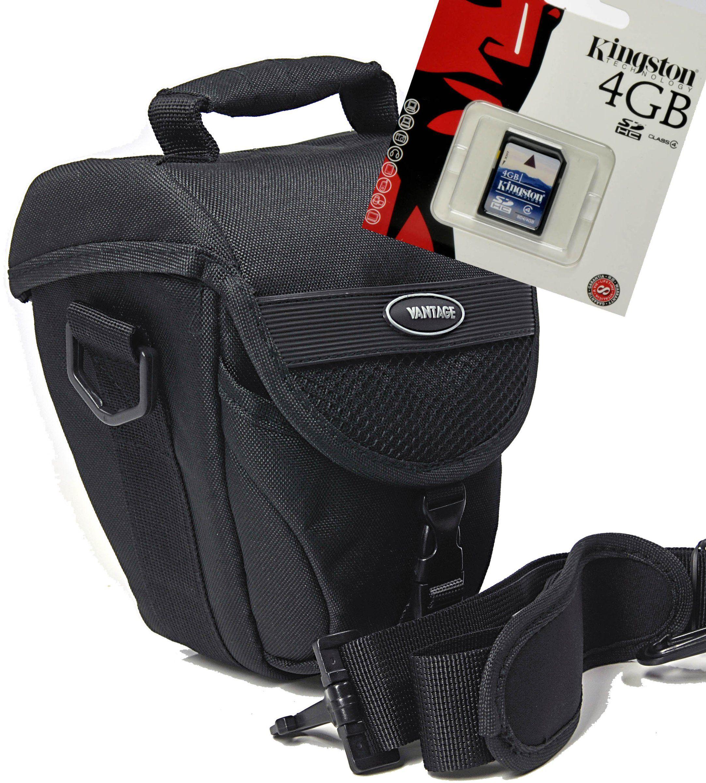 Torba na aparat fotograficzny COLT VANTAGE torba zestaw z 4 GB kart pamięci SD do Nikon D5500 D5300 D5200 D3300 D3200 D3100