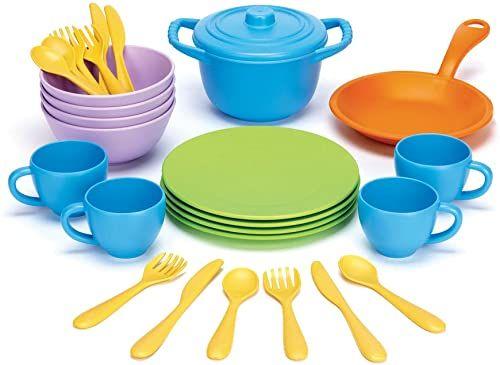 Green Toys Naczynia kuchenne i jadalnia zestaw