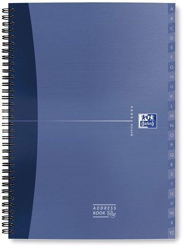 Skorowidz tele-adresowy na spirali OXFORD OFFICE A4 / 72k mix kolor 002801
