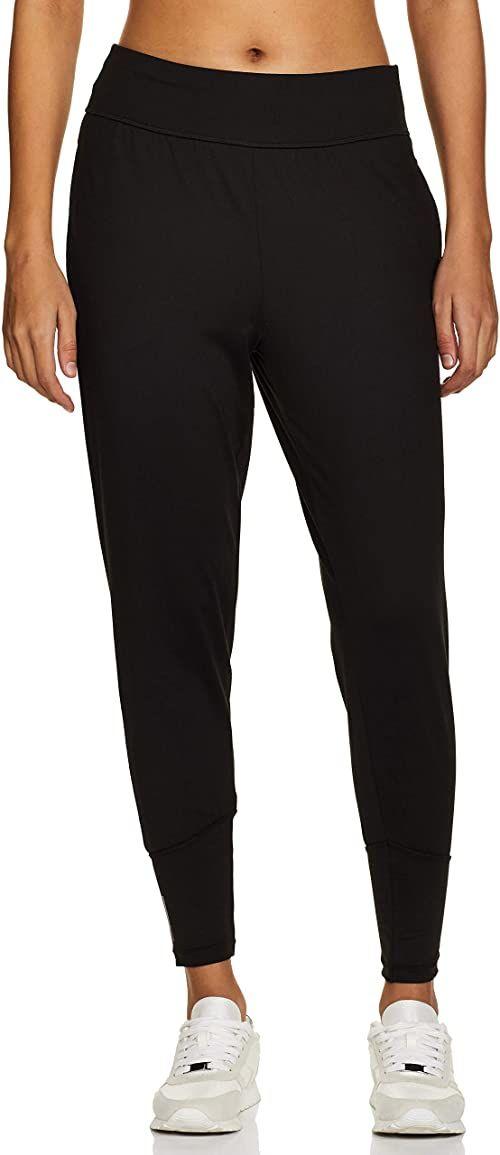 PUMA damskie spodnie do studia stożkowe spodnie dresowe Puma Czarny L