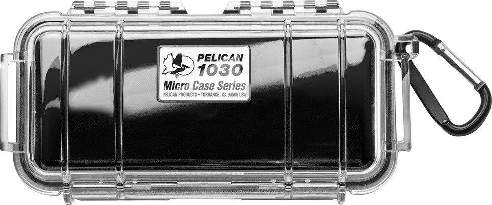 Peli 1030 czarna - wodoodporna, skrzynia transportowa