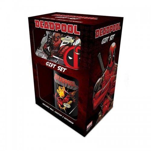 Kubek Deadpool Zestaw Prezentowy
