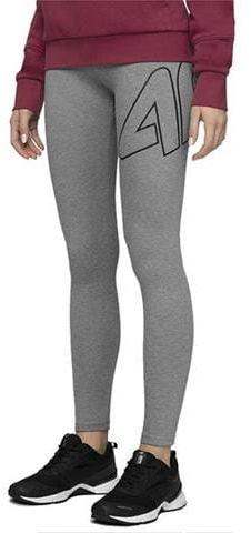 Legginsy damskie spodnie 4F szare rozm M