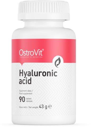 OstroVit Hyaluronic Acid (kwas hialuronowy) 90 tabletek