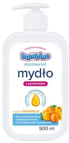 Bambino Rodzina mydło do rąk o zapachu Mirabelki 500 ml