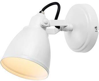 Lampa wisząca FJÄLLBACKA Wall 1L White IP444 108084 Markslojd biała nowoczesna oprawa wisząca