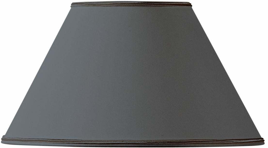 Klosz lampy, kształt wiktoriański, Ø 35 x 15 x 21, czarny