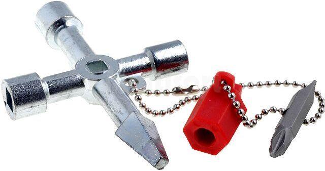 Klucz Knipex do zamykania drzwi urządzeń