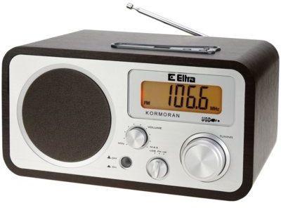 Radio ELTRA Kormoran USB DARMOWY TRANSPORT! Raty 0%! Do marca nie płacisz!