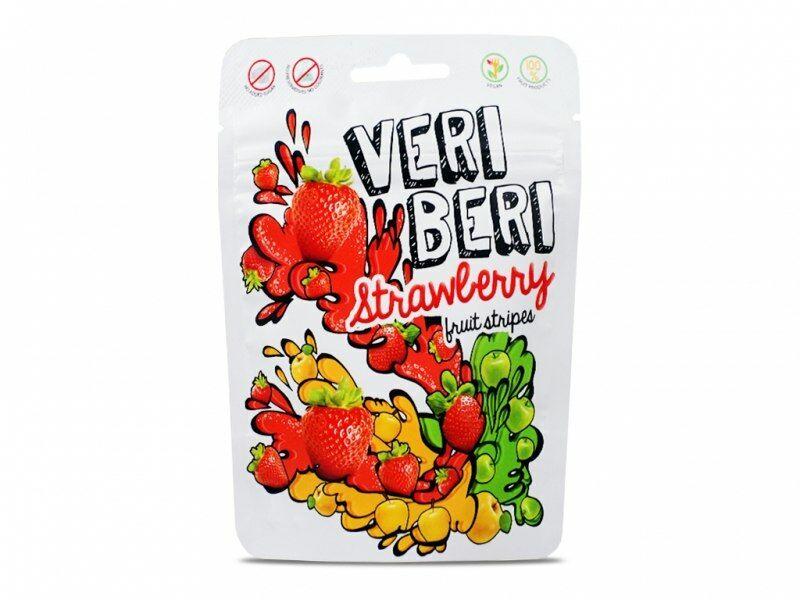 Żelki truskawkowe 50g Veri Beri