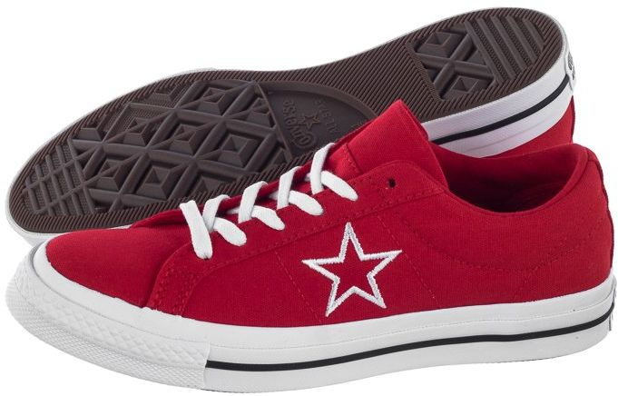 Buty Converse One Star OX Enamel Red/White/White 163378C (CO363-c)