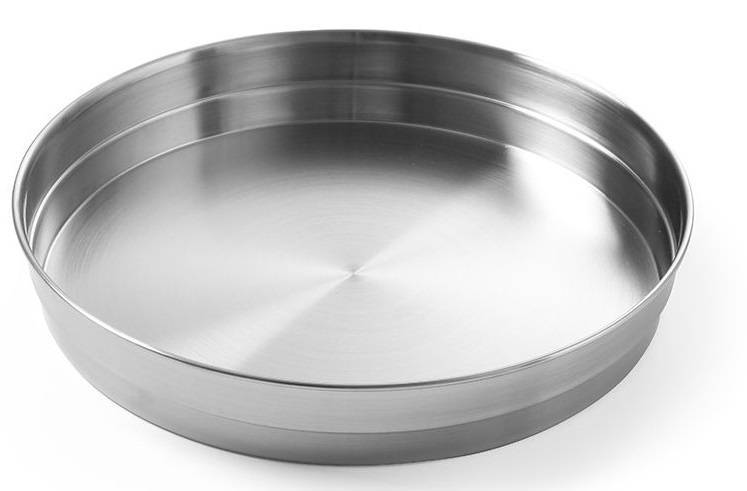Hendi Taca kelnerska okrągła ze stali nierdzewnej śr.315x(H)45mm - kod 480106
