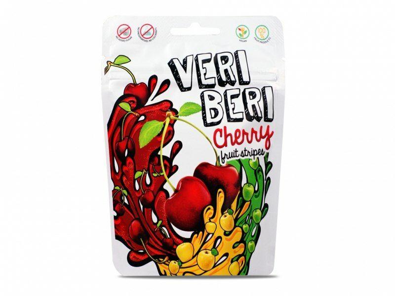 Żelki wiśniowe 50g Veri Beri