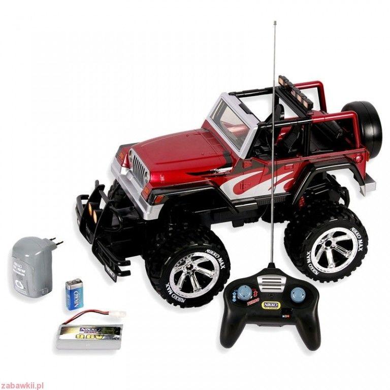 Nikko, Jeep Rubicon, samochód zdalnie sterowany