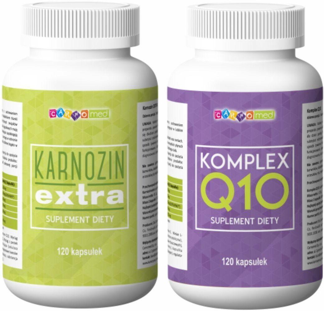 2pak - Karnozin extra (120 kps) + Komplex Q10 (120 kps)