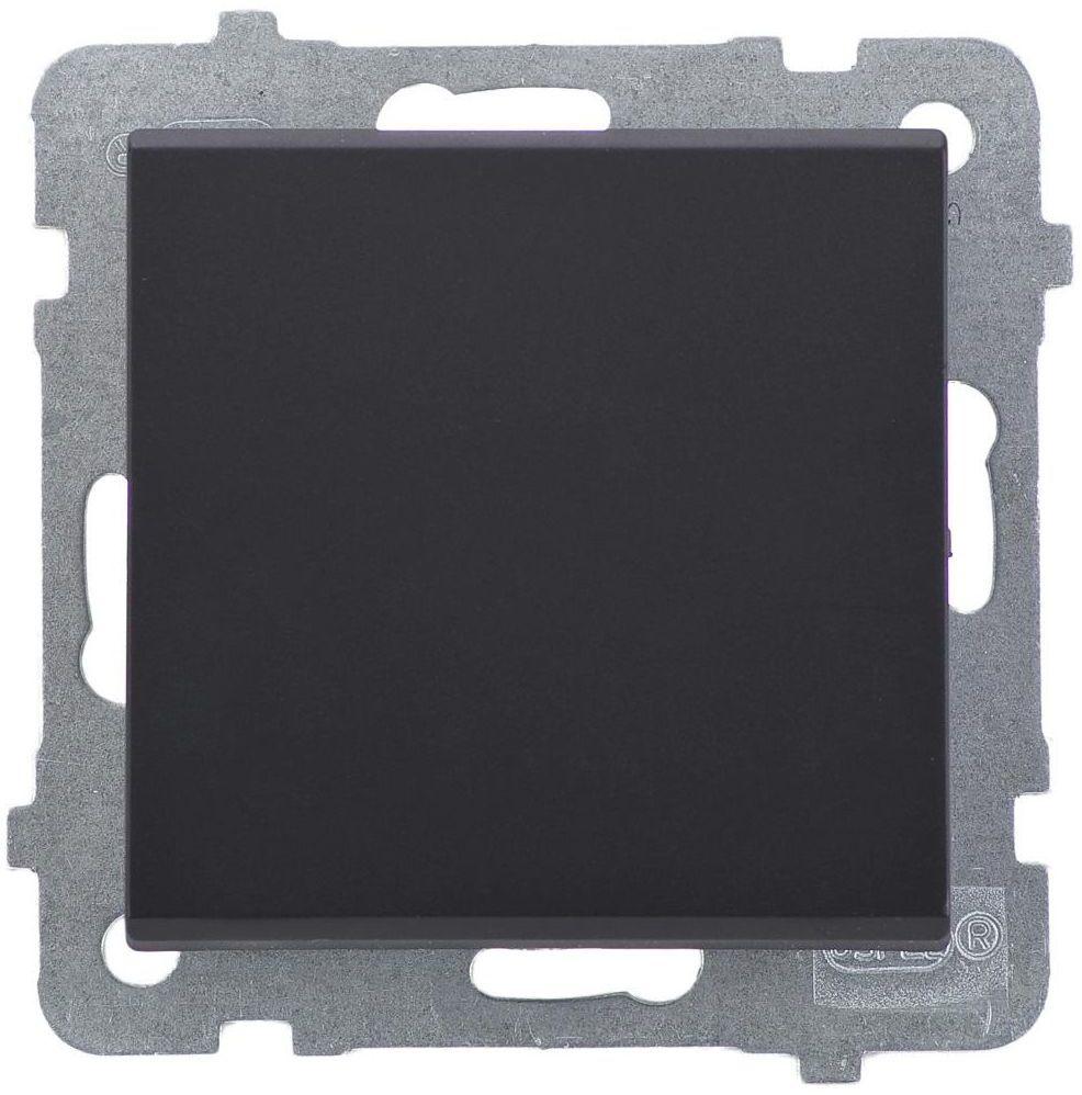 Włącznik pojedynczy SONATA Czarny OSPEL
