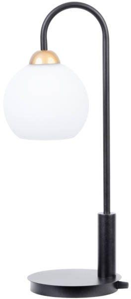 Lampa biurkowa stołowa nocna REA LAMPKA czarny 50209