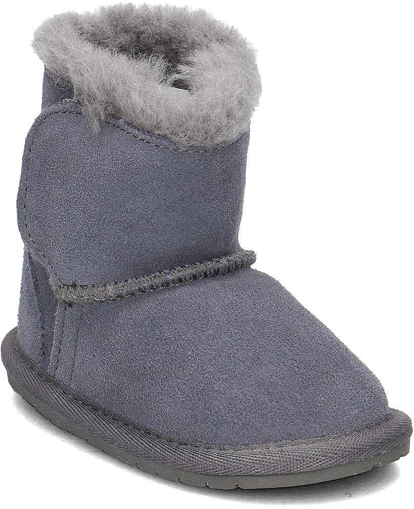 Emu Australia Toddle - Kozaki Dziecięce - B10737 CHARCOAL /ANTHRACITE