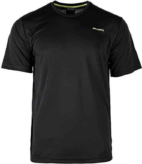 Elbrus Męski T-shirt Glodi czarny czarny/żółty XL