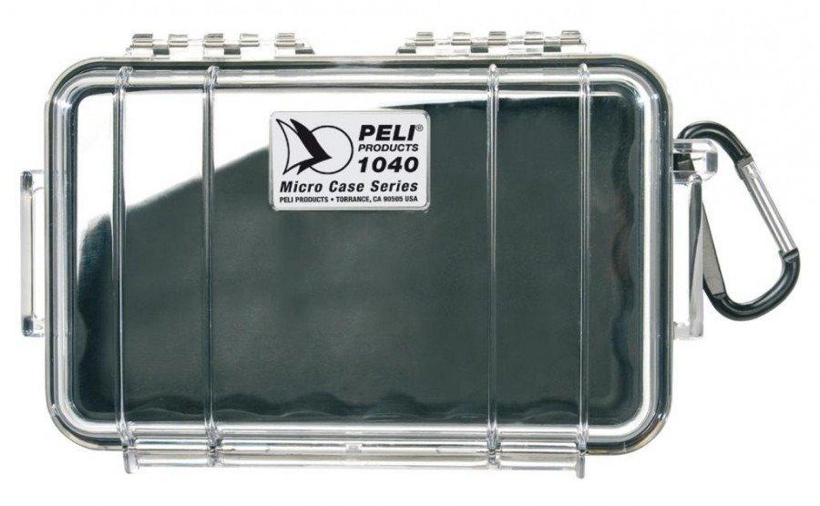 Peli 1040 przeźroczysta - wodoodporna, skrzynia transportowa