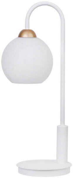 Lampa biurkowa stołowa nocna REA LAMPKA biały 50210