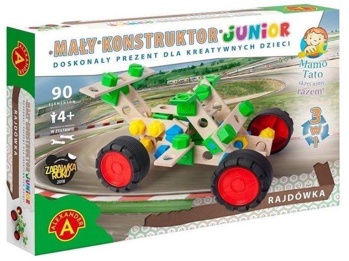 Mały Konstruktor Junior 3w1 - Rajdówka ALEX - Alexander