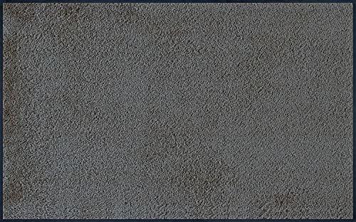 Zmywalna i sucha wycieraczka antracytowa (uchwyt dymny) / szara, 75 x 120 cm, wewnątrz i na zewnątrz, nadaje się do prania