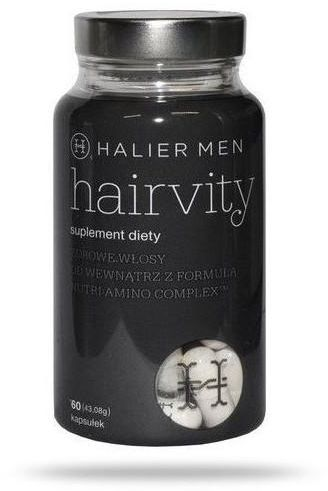 Hairvity Men zdrowe włosy od wewnątrz 60 kapsułek