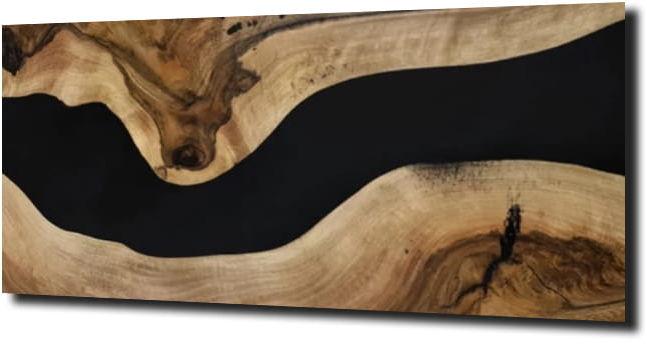 obraz na szkle Deska drewno natura 38 125X50