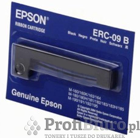 Taśma Epson ERC-09 B Czarna do drukarek igłowych (Oryginalna)