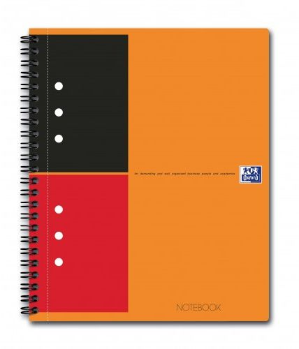 Brulion OXFORD NOTEBOOK A4 / 80k linia 001302