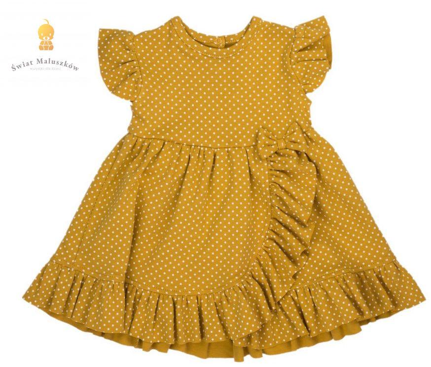 "Sukienka z krótkim rękawem ""Michalina"""