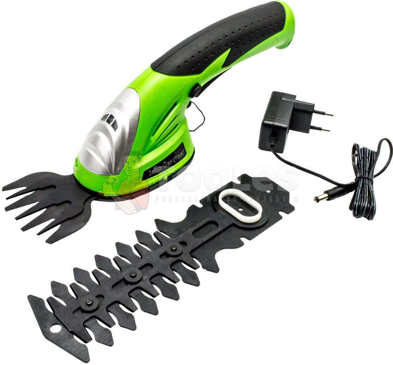 Nożyce akumulatorowe Do trawy krzewów żywopłotu 3.6V 120mm
