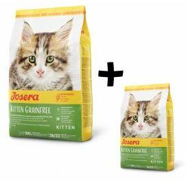 Pakiet Josera Kitten Grainfree 2 kg + 400 g GRATIS!