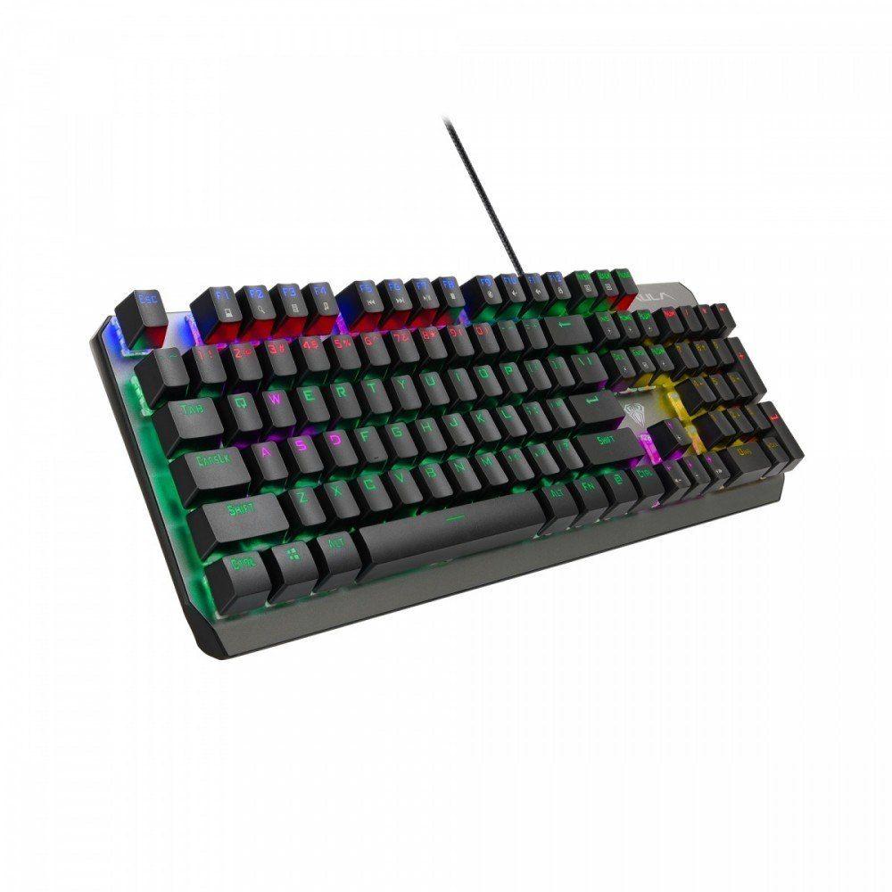 AULA Gaming Klawiatura mechaniczna dla graczy (z podświetleniem) Dawnguard Mechanical