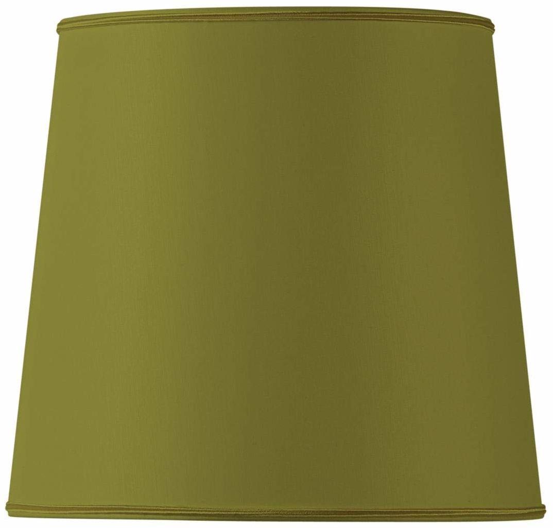 Klosz lampy w kształcie litery U, 20 x 16 x 18,5 cm, zielony/brąz