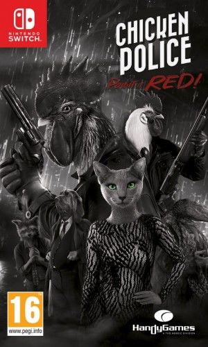 Chicken Police: Paint it Red! NS