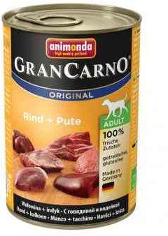 Animonda GranCarno Wołowina z Indykiem 400 g