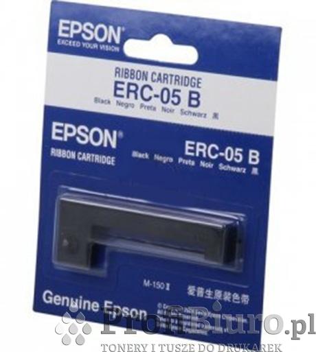 Taśma Epson ERC-05 Czarna do drukarek igłowych (Oryginalna)