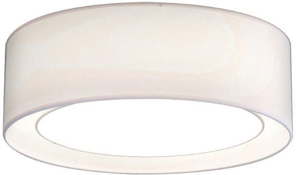 Plafon Milo AZ2318 AZzardo nowoczesna oprawa w kolorze białym