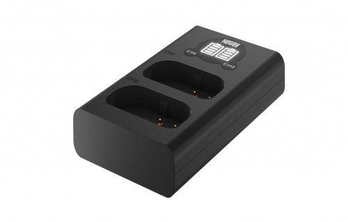 Newell Ładowarka dwukanałowa DL-USB-C do akumulatorów DMW-BLJ31 Panasonic S1
