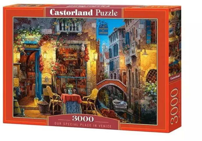 Puzzle 3000 Szczególne miejsce w Wenecji CASTOR - Castorland