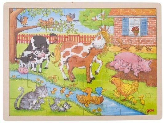 Puzzle duże Życie na wsi