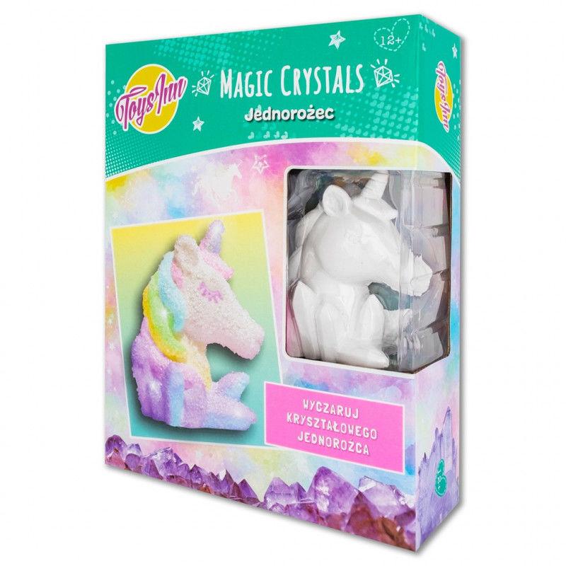 Zestaw kreatywny Magic Crystals Jednorożec