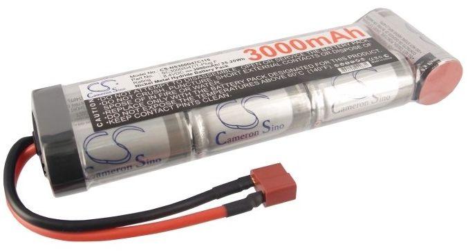 3000mAh 25.20Wh Ni-MH 8.4V 7S SC Deans / T-Plug (Cameron Sino)