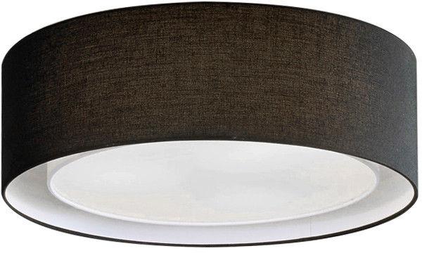 Plafon Milo AZ2317 AZzardo nowoczesna oprawa w kolorze czarnym