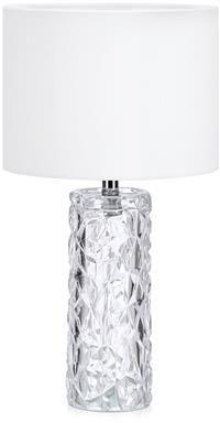 Lampa stołowa Madame 107189 Markslojd szklana lampa stołowa z białym abażurem