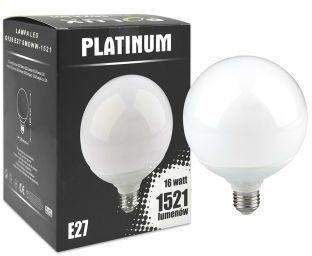 Żarówka LED 16W gwint E27 1521lm ciepła/żółta barwa światła POLUX/SANICO