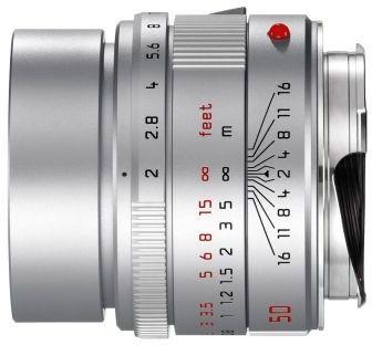 Leica APO-Summicron-M 50mm F/2.0 ASPH Srebrny