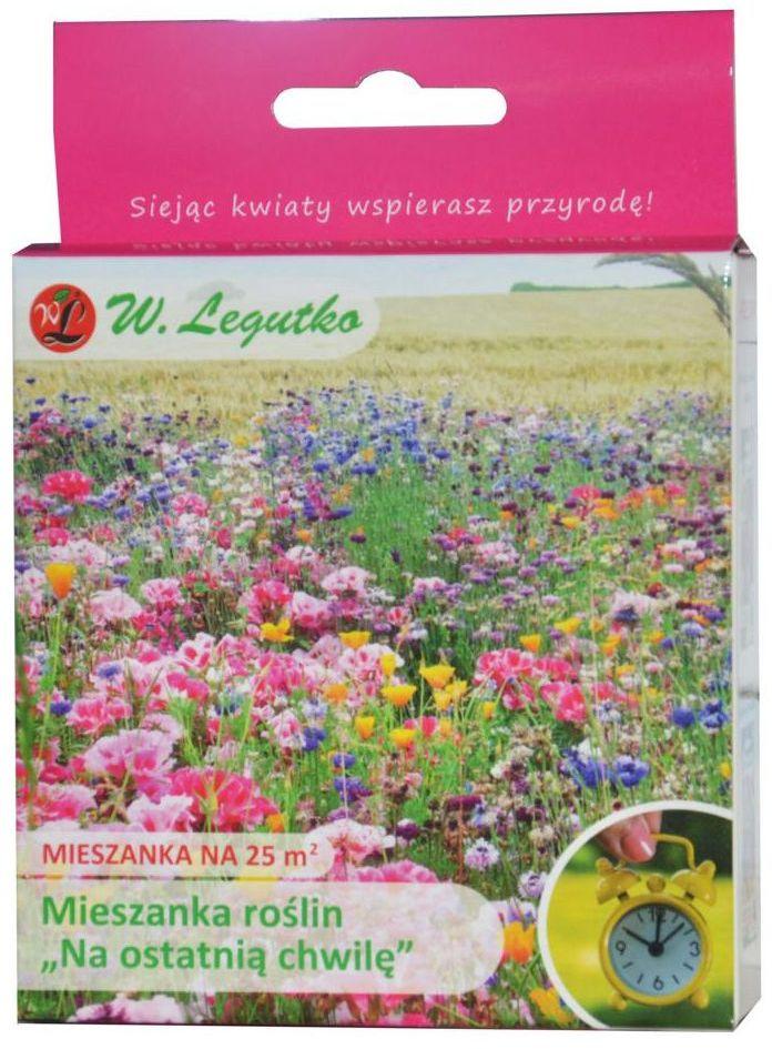 Nasiona roślin ''Na ostatnia chwilę'' 125 g / 25 m2 W.LEGUTKO